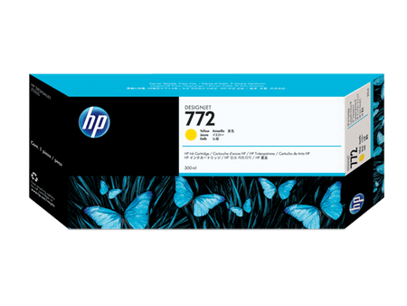 HP kartuša Designjet 772, rumena, 300 ml