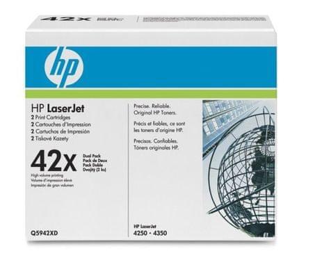 HP toner 42X dvojno pakiran, black