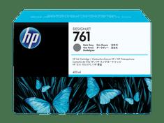 HP kartuša Designjet 761, siva, 400 ml
