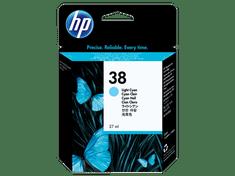 HP pigmentna kartuša 38 Light Cyan (C9415A), za 4500 fotografij