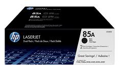 HP toner LaserJet 85A 2-pack, crn