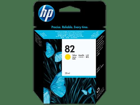 HP kartuša 82, rumena, 28 ml