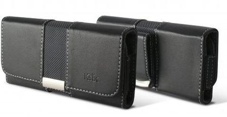 Ksix ležeča torbica za na pas velikost XXL (Samsung Galaxy Note 4), črna