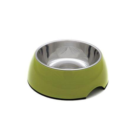 PetInn Miska Melamina Bowl DB01 L - 22 x 7,5 cm - zielona