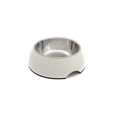 PetInn Miska Melamina Bowl DB01 L - 22 x 7,5cm - biała