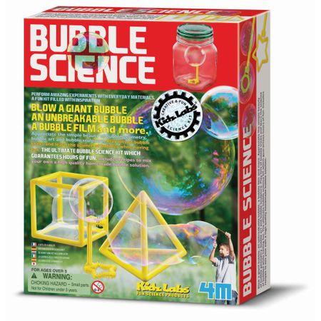 4M znanost z milnimi mehurčki