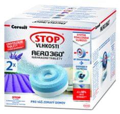 Ceresit Stop vlagi AERO 360° nadomestne tablete 2 x 450 g, sivka