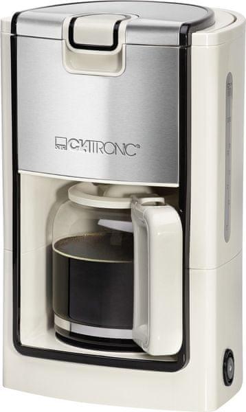 Clatronic Clatronic KA 3558 white, kávovar INOX