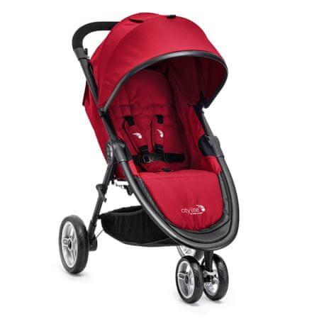 Baby Jogger City Lite Babakocsi, Piros