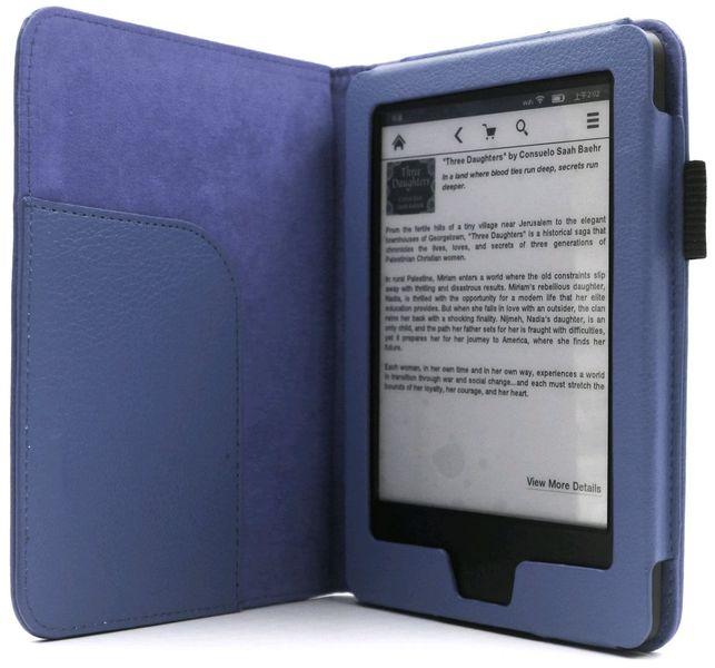 C-Tech PROTECT pouzdro pro Amazon Kindle 6 TOUCH, AKC-08B, modré