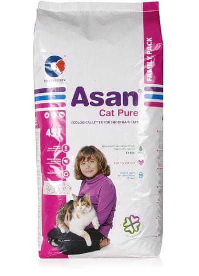 Asan stelja Cat Pure, 45 L