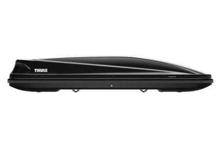 Thule strešni kovček Touring Alpine 700, sijaj črn