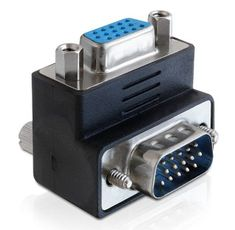 Adapter VGA M - VGA Ž kotni 270° Delock