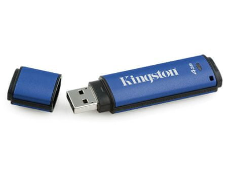 Kingston USB ključek DataTraveler Vault Privacy 3.0, 4GB