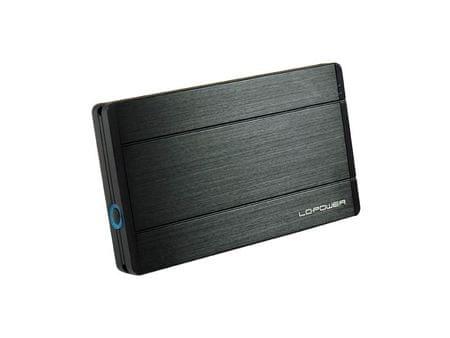 """LC Power zunanje ohišje LC-25U3-Diadem, 6,35 cm (2,5"""") USB 3.0"""