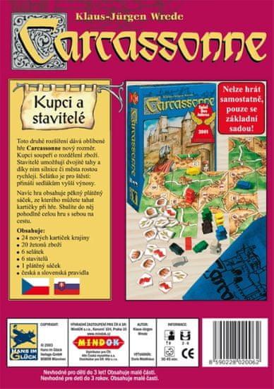 Mindok Carcassonne 2. Kupci a stavitelé