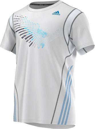 Adidas majica s kratkimi rokavi Graph Tee, moška, bela, XL