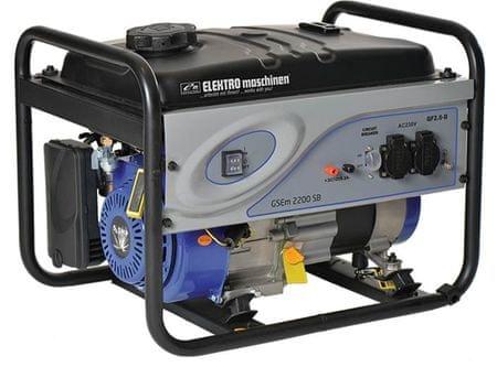 Elektro-Maschinen agregat GSEm 2200 SB