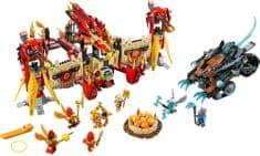 LEGO Chima 70146 Ognjeni tempelj letečega feniksa