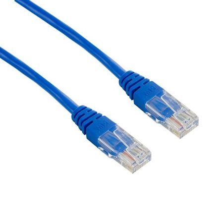 4World przewód sieciowy Patchcord RJ45 kat. 5e UTP 1 m niebieski