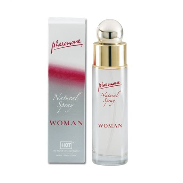 Parfém s feromony - Woman pheromon natural spray