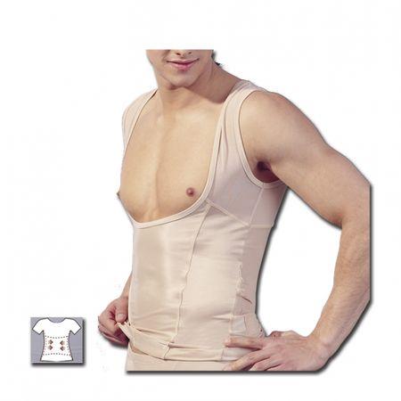 Pánsky top - Nude (M)