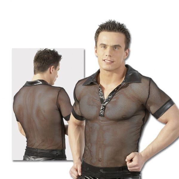 Pánské tričko s límečkem - Herren Shirt (M)