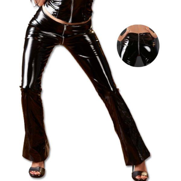 Dámské lakované kalhoty (M)