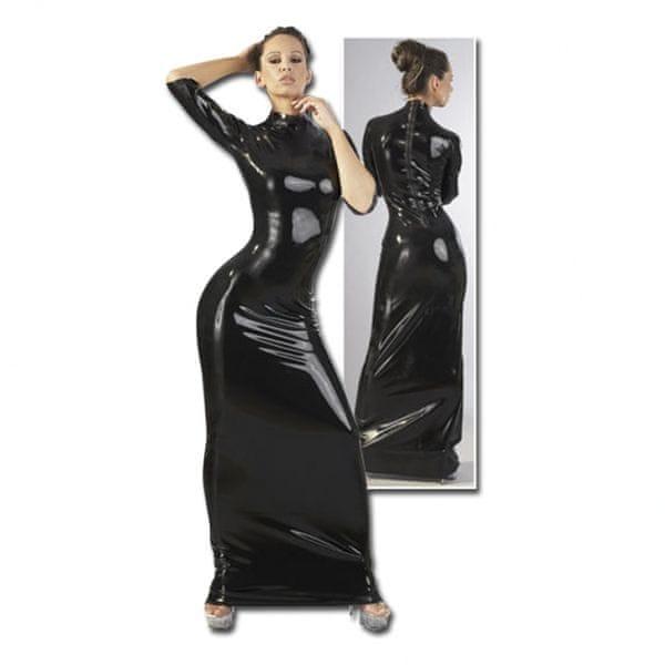 Dámské latexové šaty (M)