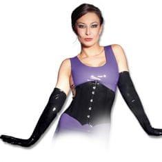 Dámské latexové rukavice - černé (S)