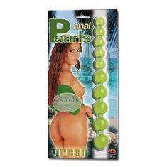 Anální kuličky - Anal pearls green