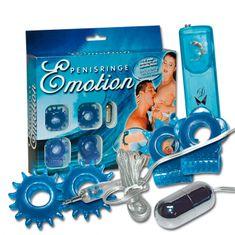 Súprava krúžkov - Emotion penisringe