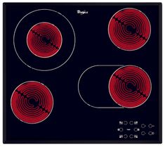 Whirlpool steklokeramična kuhalna plošča AKT 8190/BA