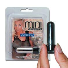 Vibrátor - Mini wireless vibe silver