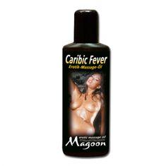 Masážní olej - Erotic massage oil Caribic fever