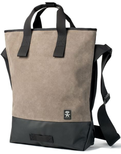 Crumpler Proper Roady Leather Messenger M - suede leather / black