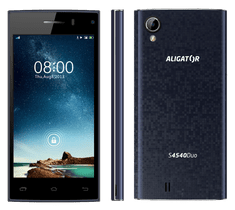 Aligator S4540 Duo, modro-černý