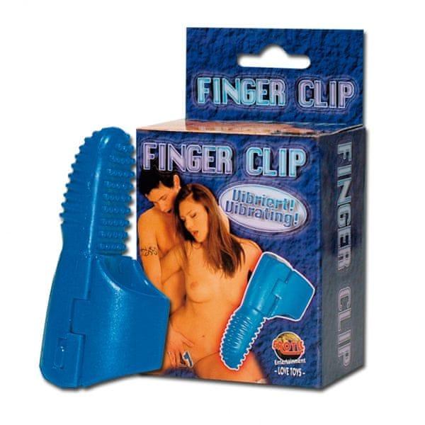 Návlek na prst vibrační - Finger clip