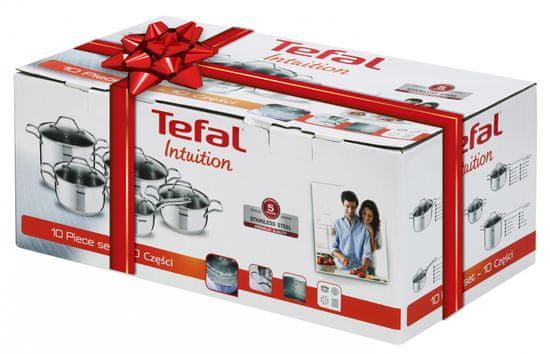 Tefal Intuition set, 10 kosov A702SC85