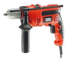 Black+Decker wiertarka udarowa CD714CRES
