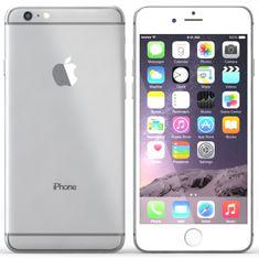 Apple iPhone 6 Plus, 16 GB, stříbrný, EU