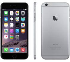 Apple iPhone 6 Plus, 16 GB, vesmírně šedý, EU