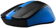 C-Tech WLM-01B, modrá, bezdrátová, USB nano receiver