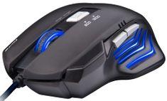 C-Tech AKANTHA, herní, modré podsvícení, 2400DPI, USB