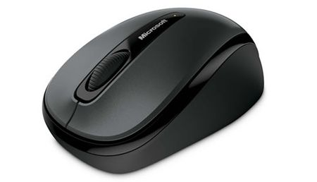 Microsoft brezžična miška Mobile 3500 Mac/Win S Loch Ness Grey