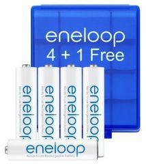 Sanyo baterije Eneloop AAA, 5 kosov