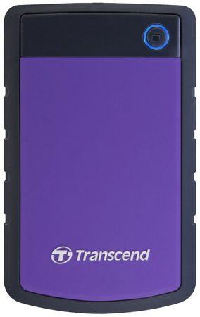 Transcend zunanji trdi disk StoreJet 25H3 1TB (TS1TSJ25H3P)