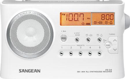 Sangean radio PR-D4
