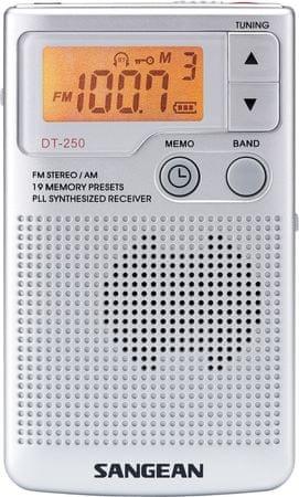 Sangean DT-250 Hordozható rádió