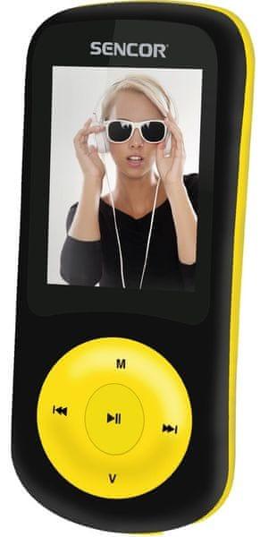 Sencor SFP 5870 BYL / 8 GB (Yellow)